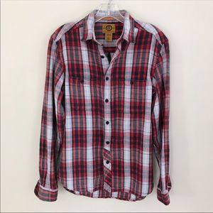 Men's Stapleford Plaid Shirt Size XS